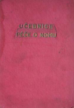 Učebnice péče o nohu obálka knihy