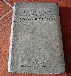 Rádce správné češtiny obálka knihy
