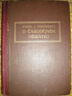 O čarodějném hřibátku obálka knihy