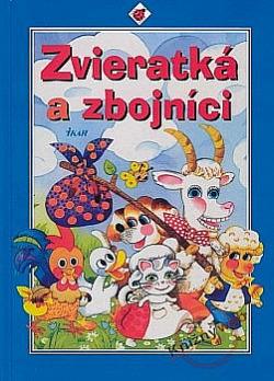 Zvieratká a zbojníci obálka knihy