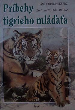 Príbehy tigrieho mláďaťa obálka knihy