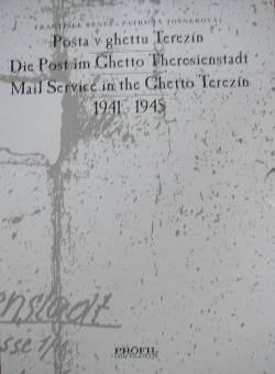 Pošta v ghettu Terezín obálka knihy