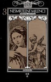 Nesmrtelní milenci 3 obálka knihy