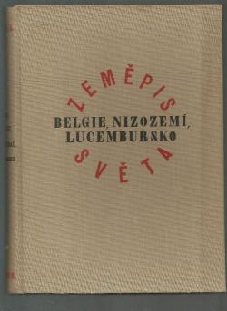 Belgie, Nizozemí, Lucembursko obálka knihy