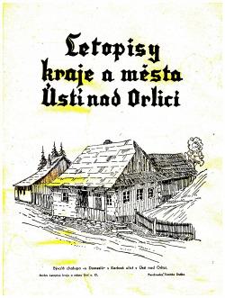 Letopisy kraje a města Ústí nad Orlicí obálka knihy