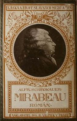 Mirabeau obálka knihy