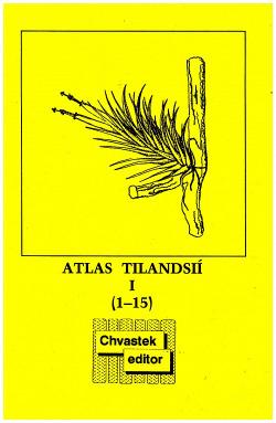 Atlas tilandsií obálka knihy