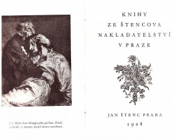 Knihy ze Štencova nakladatelství v Praze obálka knihy