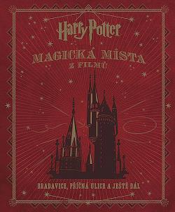 Harry Potter: Magická místa z filmů obálka knihy