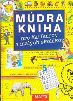 Múdra kniha pre škôlkarov a malých školákov obálka knihy