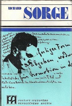 Richard Sorge obálka knihy