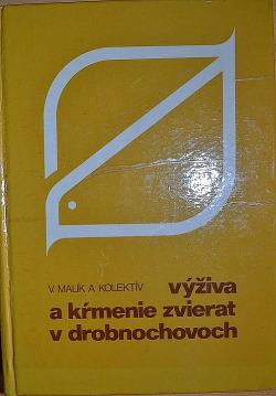 Výživa a kŕmenie zvierat v drobnochovoch obálka knihy