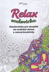 Relax omalovánka obálka knihy