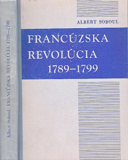Francúzska revolúcia 1789–1799 obálka knihy