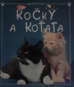 Kočky a koťata obálka knihy
