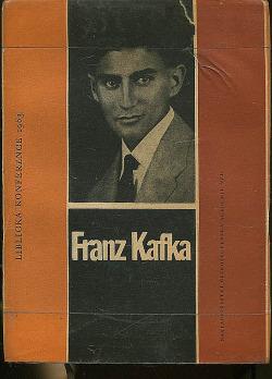 Franz Kafka. Liblická konference 1963 obálka knihy
