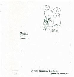 Dopisy Vladimíra Boudníka přátelům 1949-1953 obálka knihy
