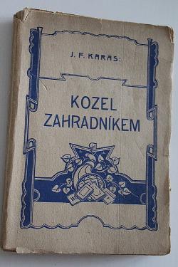 Kozel zahradníkem obálka knihy
