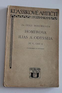 Homerova Ilias a Odysseia - díl II, část II obálka knihy
