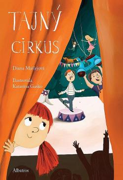 Tajný cirkus obálka knihy