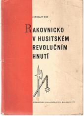 Rakovnicko v husitském revolučním hnutí obálka knihy