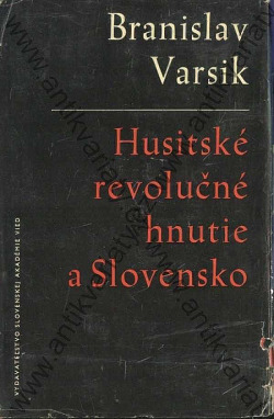 Husitské revolučné hnutie a Slovensko obálka knihy