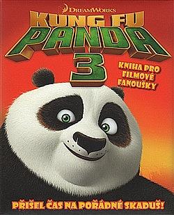 Kung fu Panda 3 - kniha pro filmové fanoušky obálka knihy