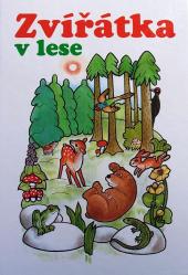 Zvířátka v lese obálka knihy