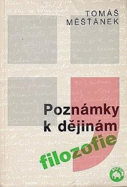 Poznámky k dějinám filosofie obálka knihy