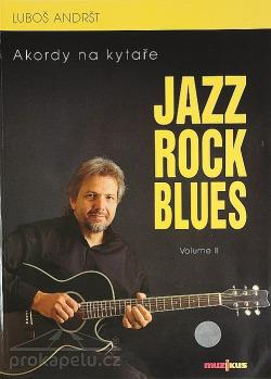 Jazz, rock, blues. Volume 2, Akordy na kytaře obálka knihy