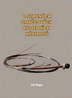 O strunách smyčcových hudebních nástrojů obálka knihy