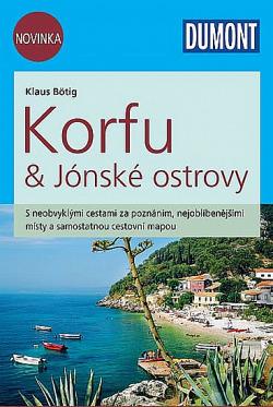 Korfu & Jónské ostrovy obálka knihy