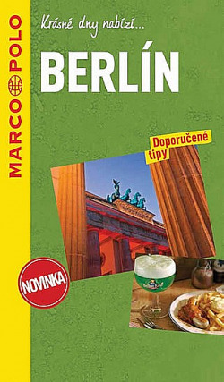 Berlín - průvodce na spirále s mapou MD obálka knihy