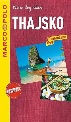 Thajsko - průvodce na spirále s mapou MD
