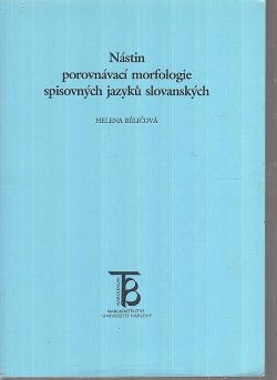Nástin srovnávací morfologie spisovných jazyků slovanských obálka knihy