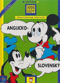 Ilustrovaný slovník anglicko-slovenský obálka knihy