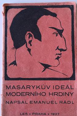 Masarykův ideál moderního hrdiny obálka knihy