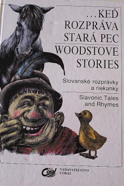 ...Keď rozpráva stará pec/ Woodstove stories obálka knihy