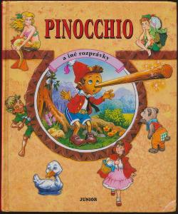 Pinocchio a iné rozprávky obálka knihy