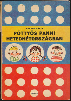 Pöttyös panni hetedhétországban obálka knihy