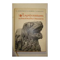Lapidárium Národního muzea obálka knihy