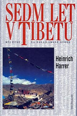 Sedm let v Tibetu obálka knihy