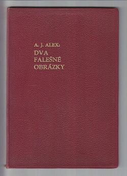 Dva falešné obrázky obálka knihy