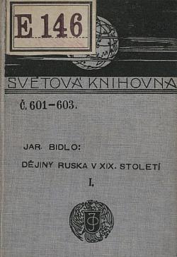 Dějiny Ruska v devatenáctém století Díl I. obálka knihy