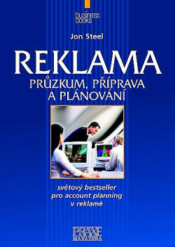Reklama: průzkum, příprava a plánování obálka knihy