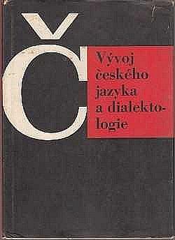 Vývoj českého jazyka a dialektologie obálka knihy