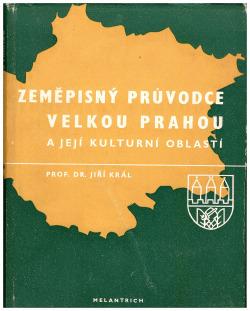Zeměpisný průvodce Velkou Prahou obálka knihy