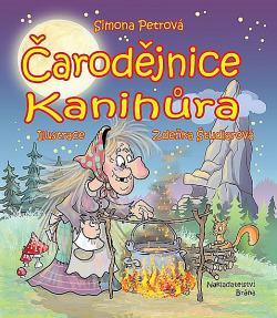 Čarodějnice Kanihůra obálka knihy