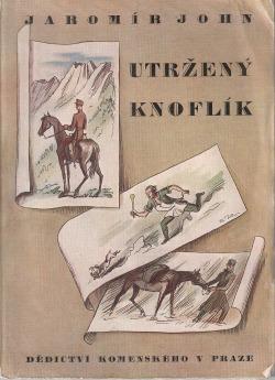 Utržený knoflík obálka knihy