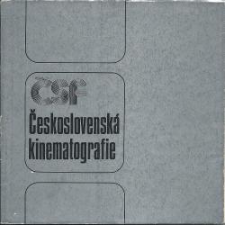 Československá kinematografie obálka knihy
